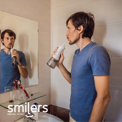 hilo dental irrigador bucal
